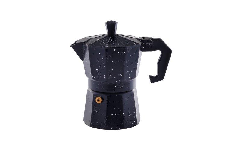 Ekspres kafeje me veshje guri i Zi, Masa 3