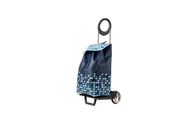 Gimi Ideal Karrocë Dore për Pazar Ngjyrë Blu