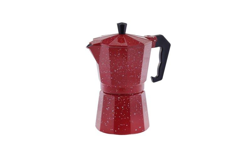 Ekspres kafeje me veshje guri i Kuq, Masa 2