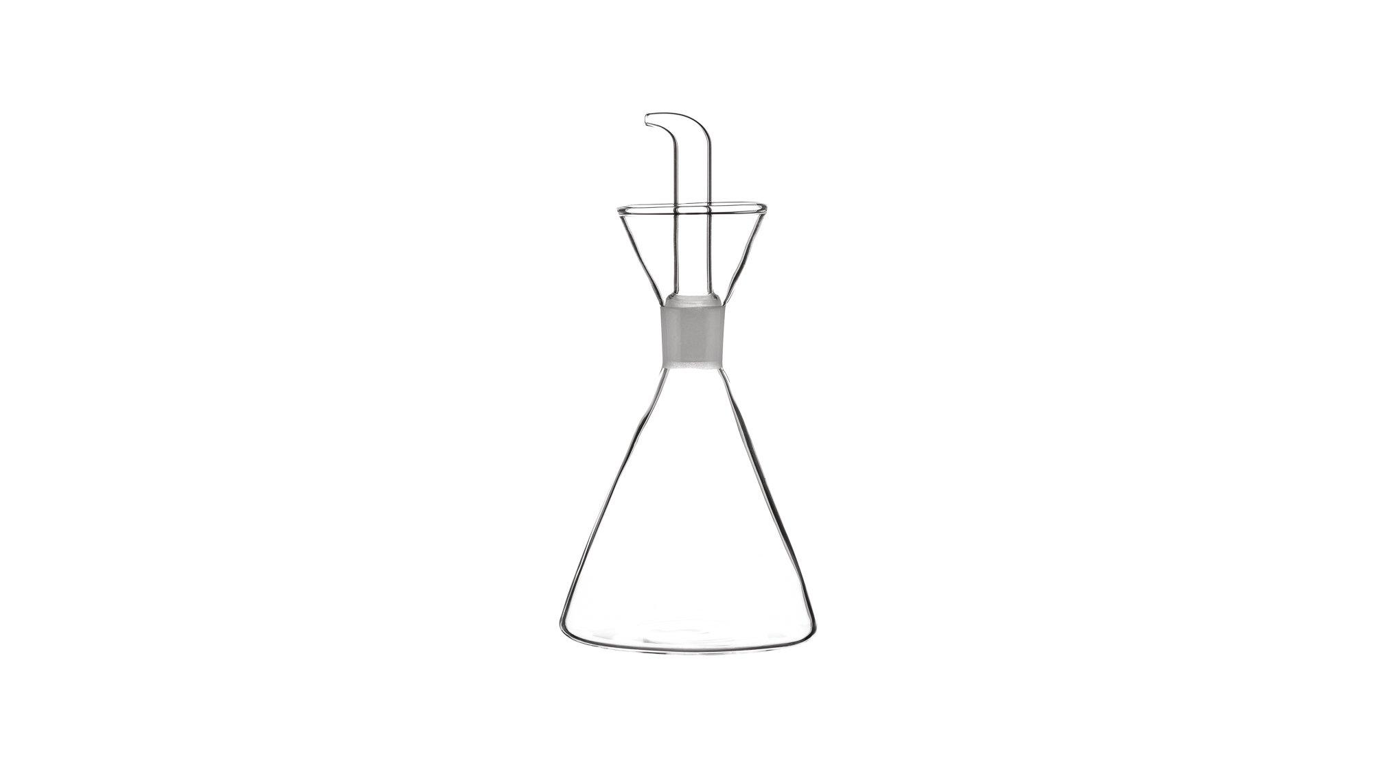 Luigi Bormioli Thermic Glass Shishe Konike për Vaj 25 cl