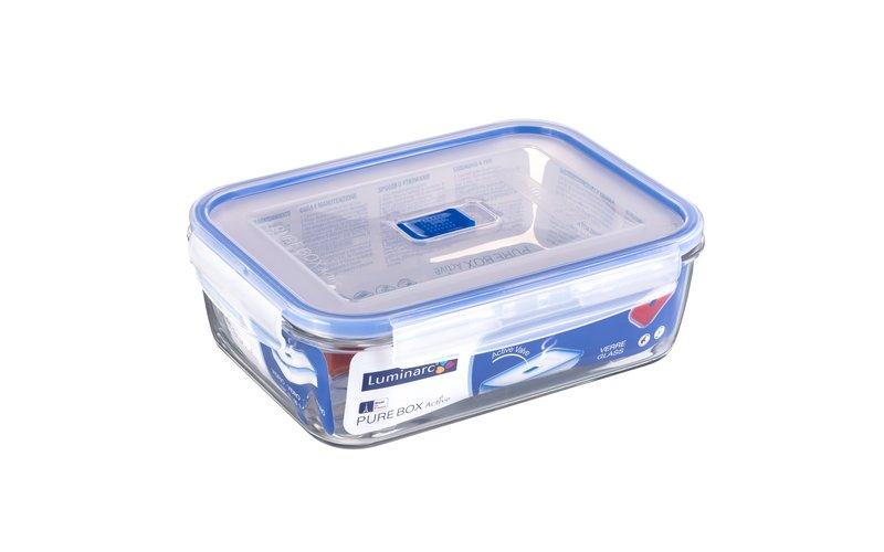 Luminarc Pure Box Active Tas me Kapak Plastik 197 Cl, 1 Copë