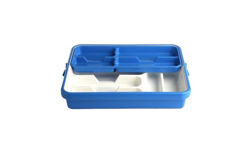 Mixy Blue Mbajtëse Lugësh me Shinë 31X41X8 cm