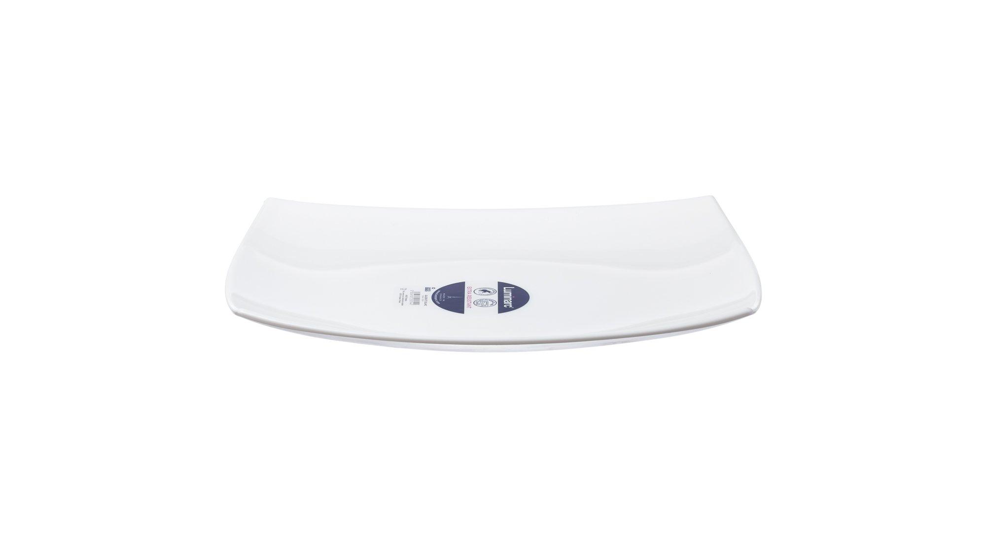 Luminarc Quadrato White  Pjatancë  35 X 23 cm, 1 Copë