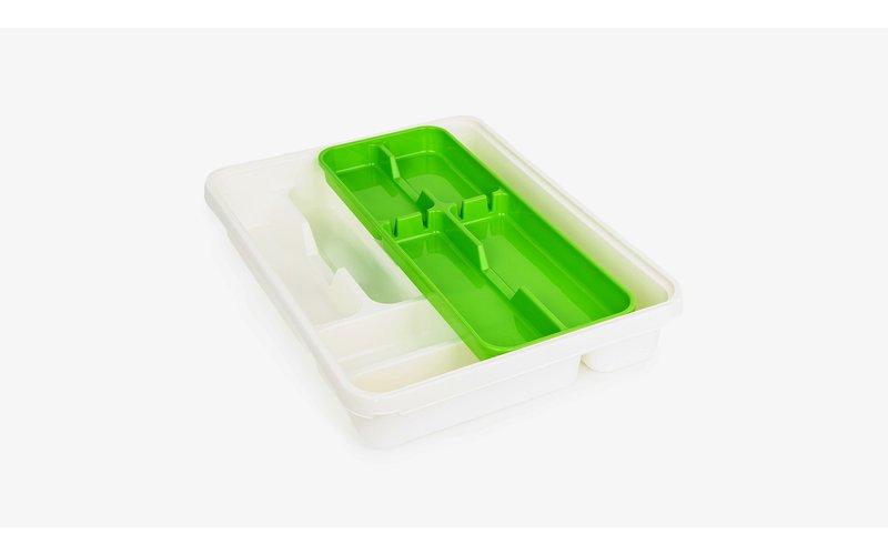Tontarelli Mixy Green Mbajtëse Lugësh  me Shine 31X39X7 cm
