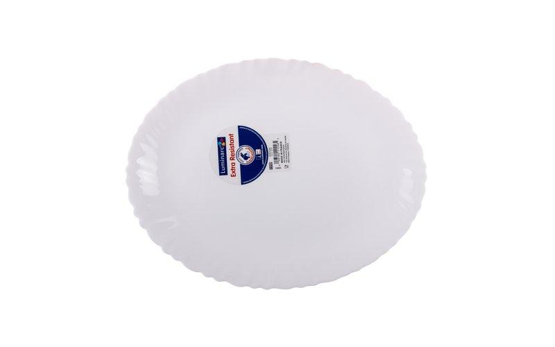 Luminarc Feston Ovale Pjatancë 33 cm
