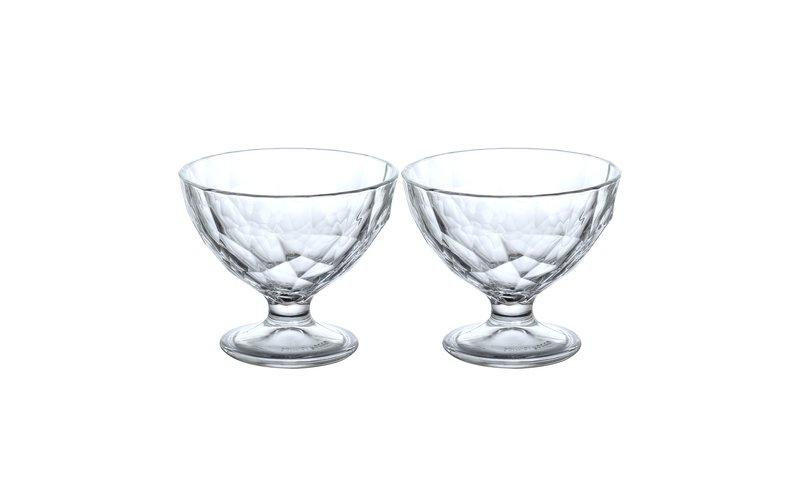 Bormioli Diamond Kupë Akullore, 36 cl, 2 Copë