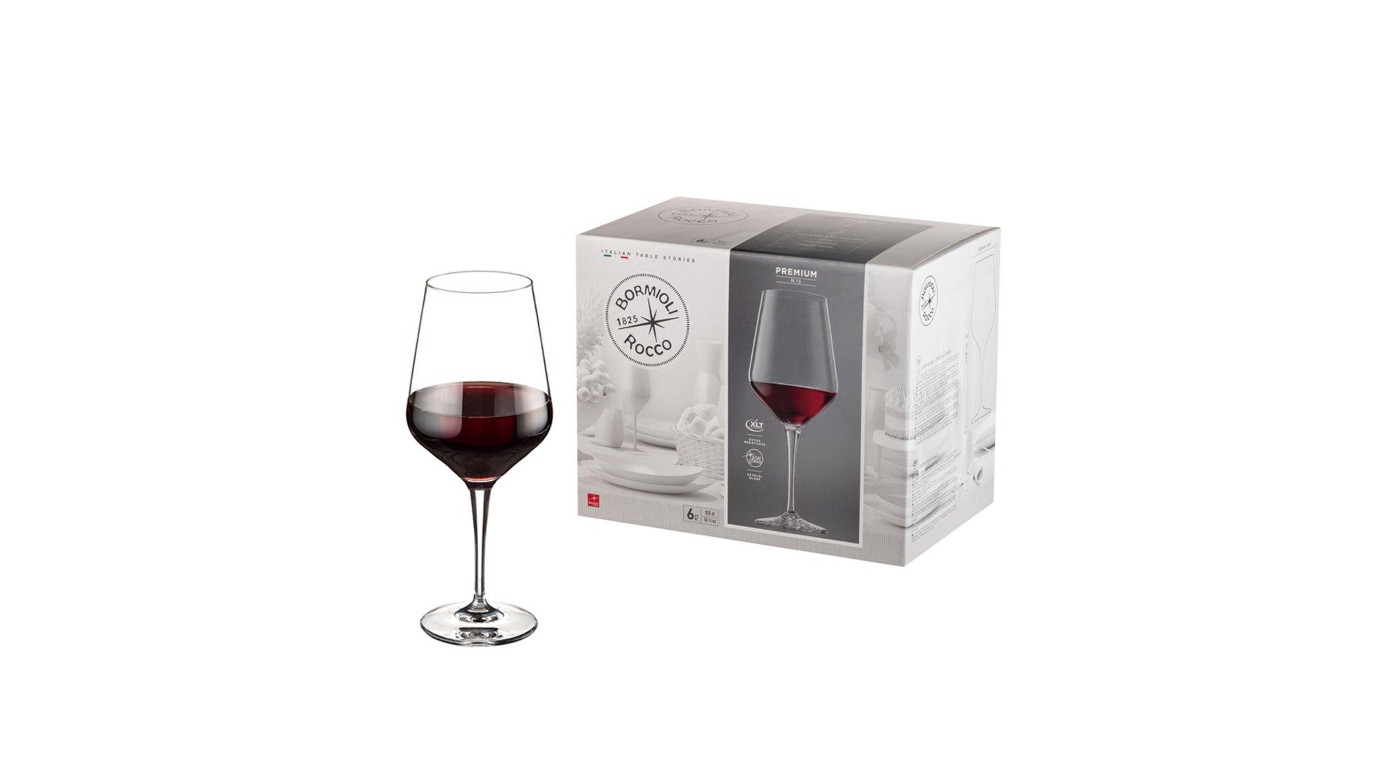 Bormioli Rocco Premium Gota Vere me Fron 55 cl 6 Copë