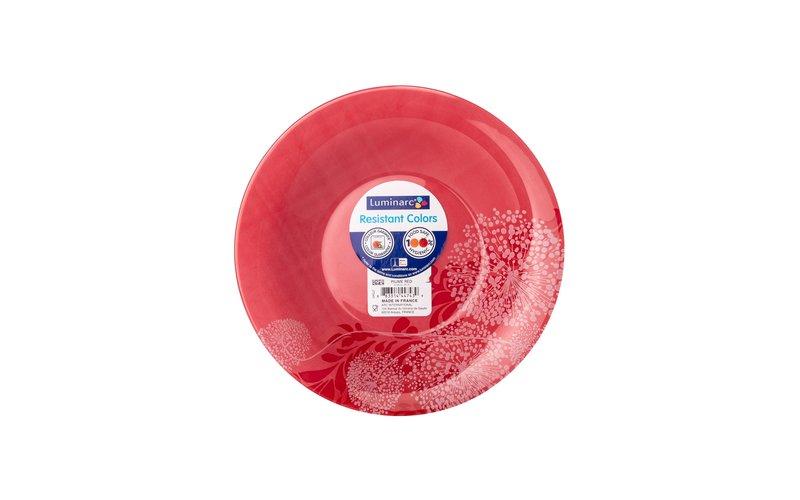 Luminarc Piume B Pjatë Supe e Kuqe 21.5 cm