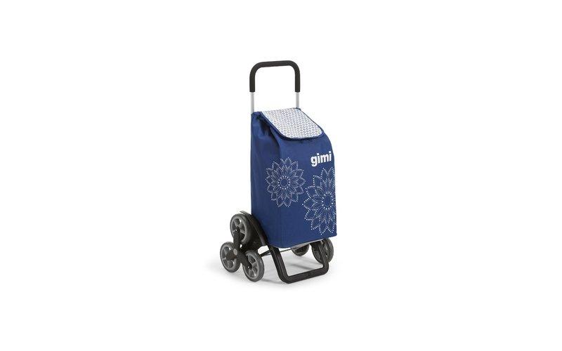 Çantë për Blerje Tris Floral Blu